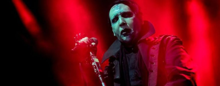 Stage Prop Crushes Marilyn Manson During Concert