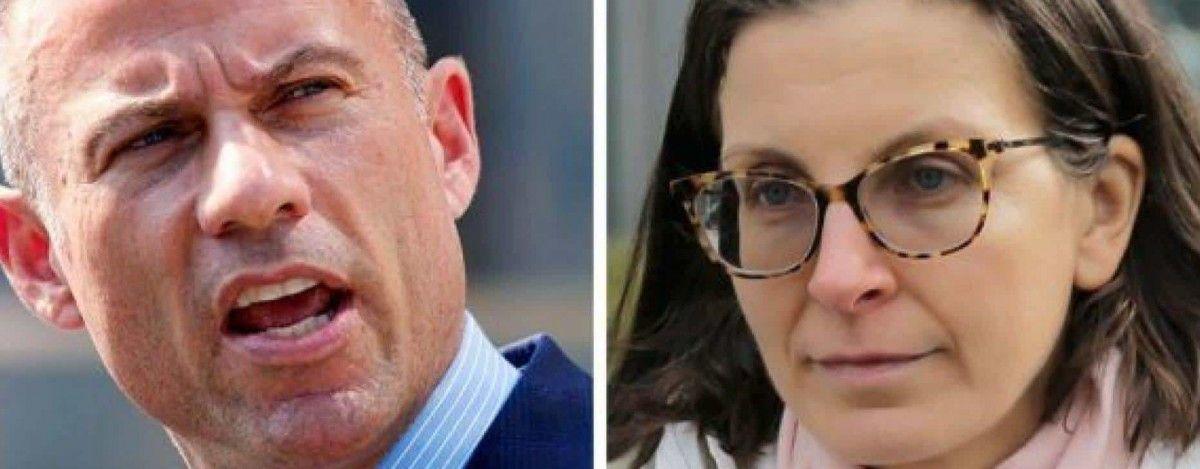 Michael Avenatti and Seagram heiress Clare Bronfman