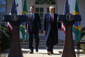 Trump Bolsonaro Conference