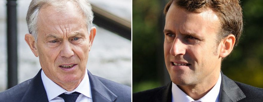 Tony Blair and Emmanuel Macron secret meetings exposed