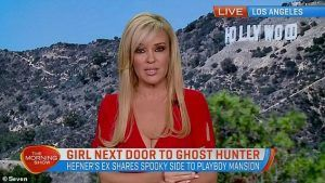 Bridget Marquardt Good mOrning Show Seven News