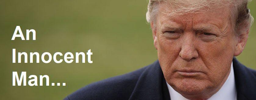 Donald Trump innocent in Mueller probe