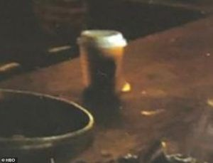 Starbucks coffee cup in Game of Thrones