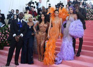 Kardashians Jenners at Met Gala 2019
