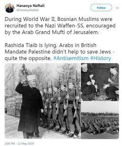 Rashida Tlaib racist Holocaust remarks