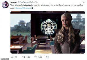 Starbucks Meme Game of Thrones