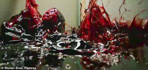 Jessica Chastain blood scene IT 2