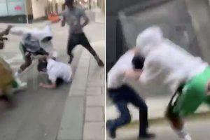 A$AP Rocky fight Stockholm